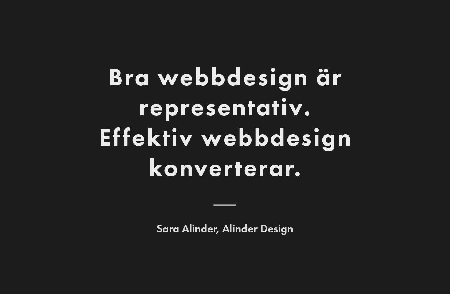 Effektiv webbdesign